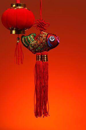 Chinese New Year Background Stock Photo - 17564060