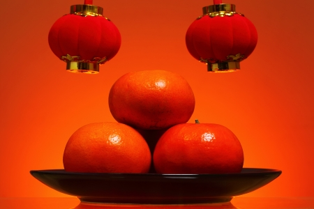 defocussed: Chinese New Year Background