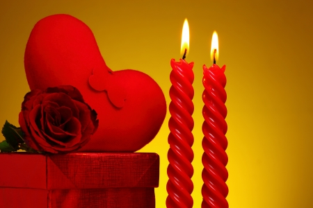 Valentines Day background  Stock Photo - 17564038