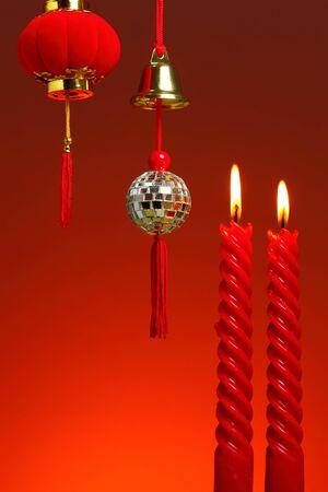 Chinese New Year Background Stock Photo - 17564023