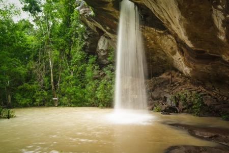 Sang Chan Waterfall Thailand in Ubon Ratchathani.
