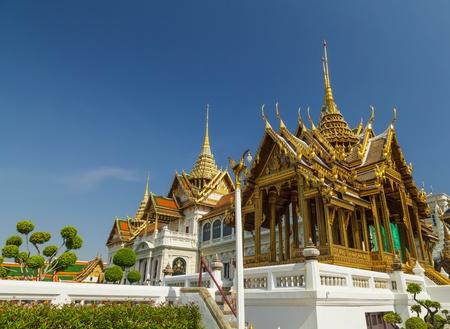 grand pa: Part of Wat Phra Kaew temple in Bangkok, Thailand