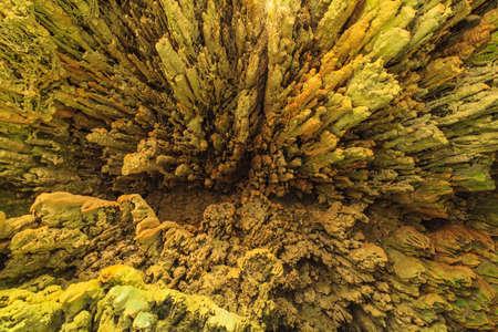 stalagmite: Limestone caves in Erawan Waterfall, Kanchanaburi Thailand