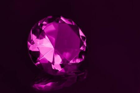 gem stones: Close-up beautiful pink gem stones.