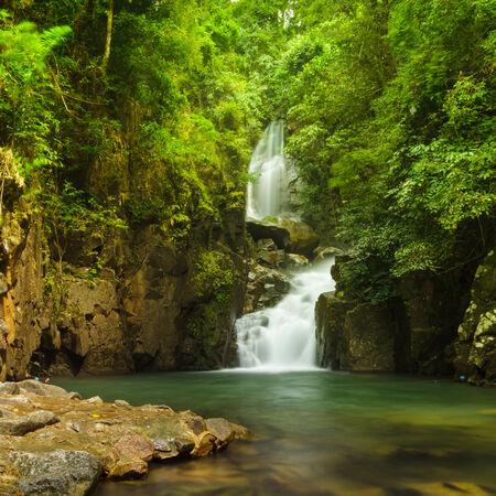 namtok: Namtok Phlio in national park, Chanthaburi Province, Thailand.