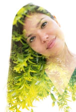 Mesmeric portrait of an attractive woman Reklamní fotografie