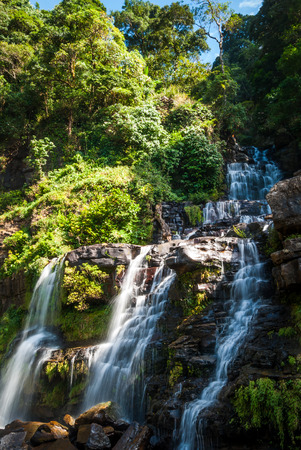 southern: waterfall in southern Laos