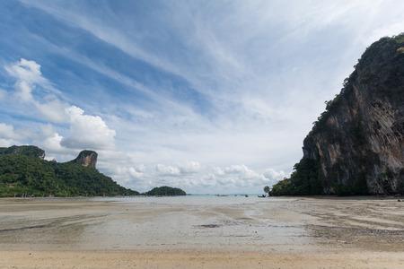 Eastern Rai Lay beach, Krabi, Thailand. Stock Photo