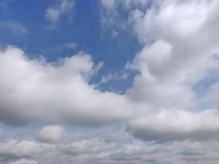 Blue sky and cloud background. 写真素材