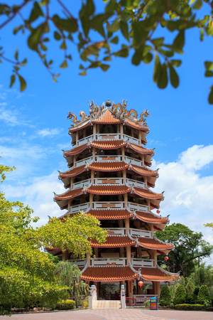 chinese pagoda: Large Chinese Pagoda 7th.