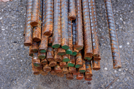 implementations: Rebar used in construction were mobilized until the rust before deployment.