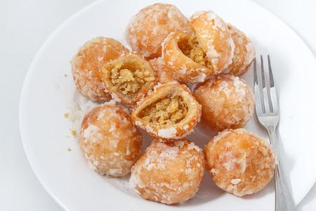 Thai dessert,name khai Hong  that mean Egg swan  in English.