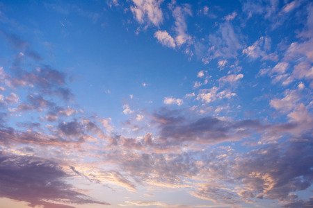 distinctness: Beautiful sky and clouds before sunrise.