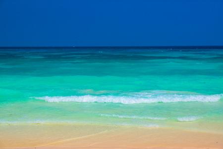 blue ocean Tachai island Andaman sea Thailand
