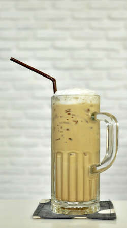 Thai ice coffee photo