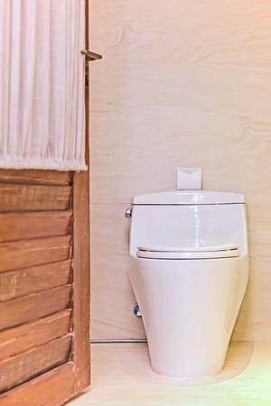 bowel movement: Toilet paper on a toilet