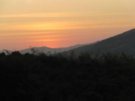 Sunset of Thailand