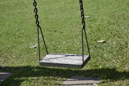 Swings in the park  photo