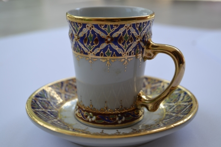 Coffee cup pattern Thailand  photo