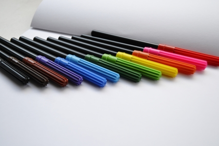 Pen color Stock Photo - 18457873