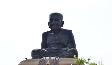 pu: Luang Pu Thuat Wat Huay Mongkol houses