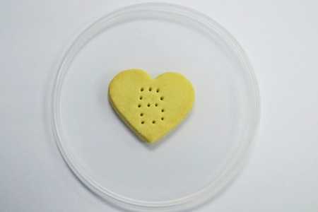 Heart shaped cookies. Stock Photo - 20487062
