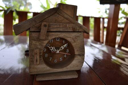 wooden clock: Wooden Clock