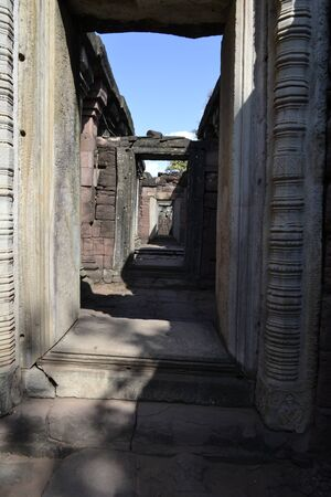 nakhon: NAKHON RATCHASIMA - Travel the old castle rock of Phimai Editorial