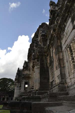 ratchasima: NAKHON RATCHASIMA - Travel the old castle rock of Phimai Stock Photo
