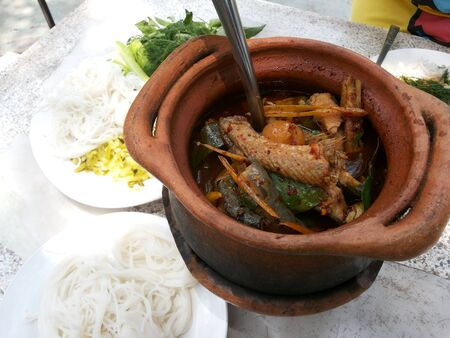 Thailand food - spicy fish soup