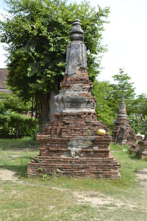Wat Choeng Tha in Ayutthaya, Thailand.