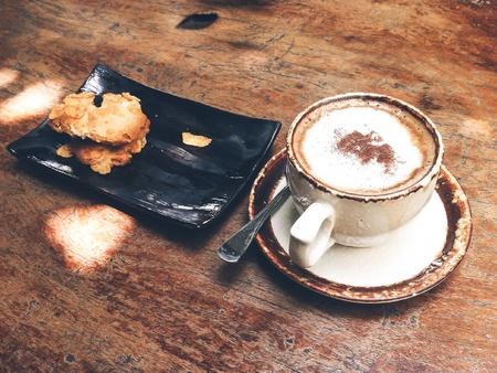 afternoon cafe: El café de la tarde con Conflex cookie.