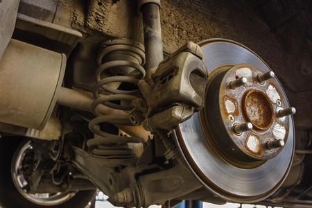 cars break assembly after repair