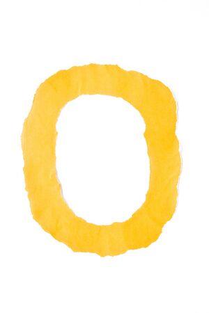 typesetter: color paper capital letter alphabet