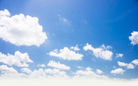 cloud in the blue sky Stok Fotoğraf