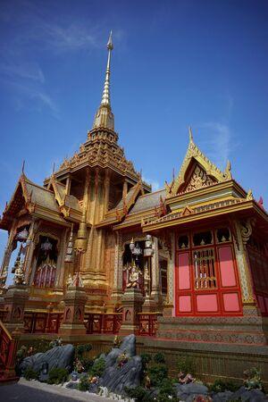 crematorium: Thai Royal Crematorium Stock Photo
