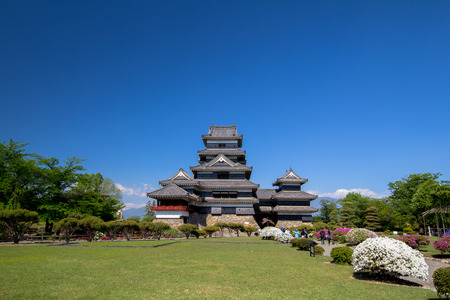 matsumoto: The Matsumoto castle is so beautiful and ancient place of Japan Editorial
