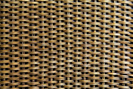 wicker woven beautiful details pattern background texture.