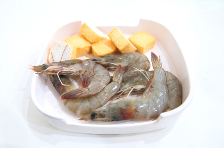 sea food: sea food for shabu Stock Photo