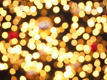 lightening: Bokeh of the lightening on christmas tree