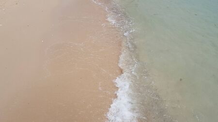 seawater: Sand beach and clear seawater in the tropical island
