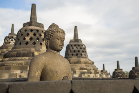 The beautiful Borobudur Temple, Yogyakarta, Indonesia   photo