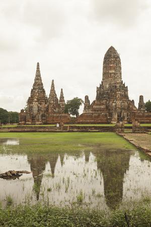 indo china: Old temple in Ayathaya, Thailand