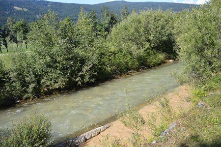 Confluence river