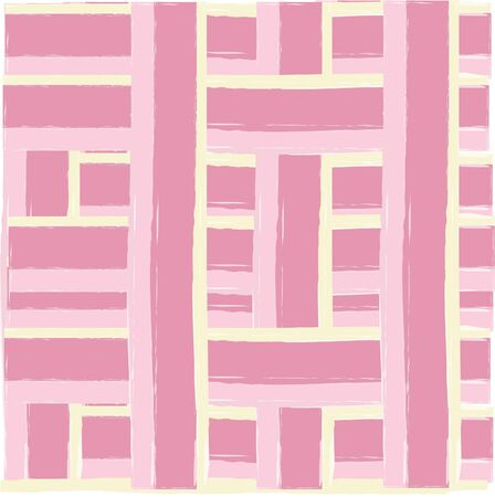 weaved: Pink and yellow weaved background Illustration