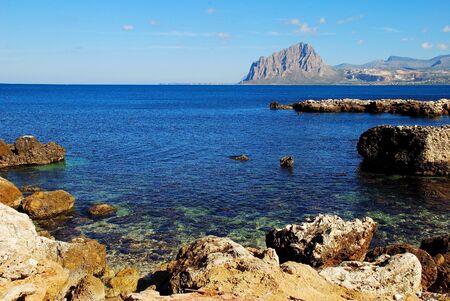 Bonagia (Sicily) Stock Photo