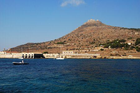 aegadian islands (sicily) Stock Photo