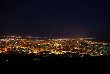 spaniards: Trapani(Sicily)  night landscape