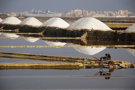 Trapani (Sicily) - the salt