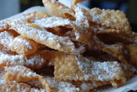 crostoli: fried pastries